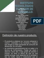 Instituto Tecnológico Superior de Fresnillo PRESENTACION DE CERVEZA CASERA.pptx