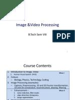 Video Technology 2013-14 - Minor II