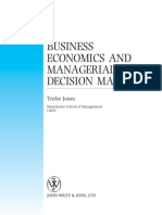 (eBook) Business Economics and Managerial Decision Making (Wiley)