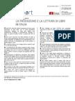 Produzione e lettura di Libri inn Italia al 30 dicembre 2013