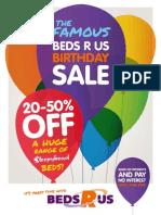 Beds R Us June Catalogue
