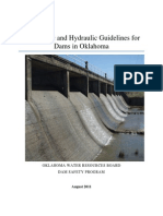 Hydro Logic and Hydraulic Guidelines for Dams in Ok