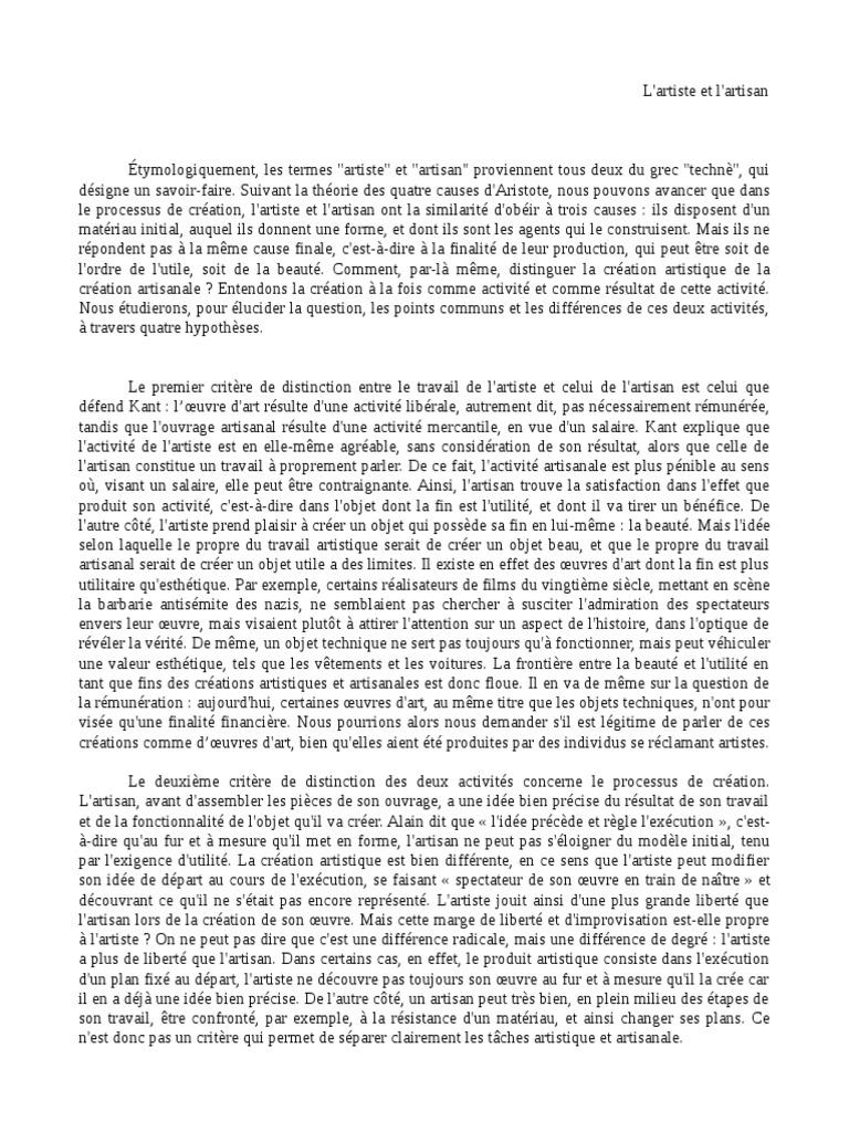 Diffrence entre essai et dissertation