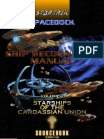 Ship Recognition Manual Cardassian