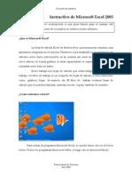 Instructivo de Microsoft Excel 2003