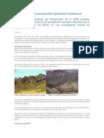 Técnicas Geofísicas Para Descubrir Yacimientos Minerales en Afganistán