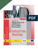 Manual de Buenas Practicas Ambientales Industrias Textiles