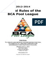 2012 BPA Pool Rules