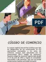 Diapositiva Del Registro Mercantil