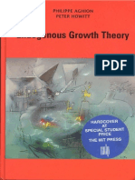 Aghion Howitt 1998 Endogenous Growth Theory