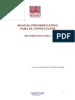 PGP Manual Para El Consultante de Trastorno de Pánico