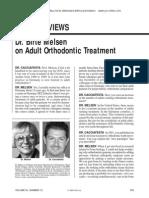 Entrevista Birte Ortodontia Adultos JCO 2006