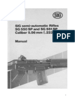 Sig 550 and 551 Assault Rifle User Manual