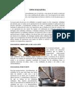 SOLDADURA TIPOS DE ELECTRODOS TIPOS DE SOLDADURA ARTE PREHISTORICO EPOCA PALEOLITICA.docx