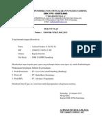 Surat Tugas Kunjungan Industri