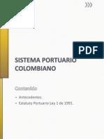 Sistema Portuario Colombia