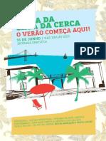 Programa da Festa de Aniversário da Casa da Cerca 2014