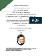 Vida de San Vicente de Paúl