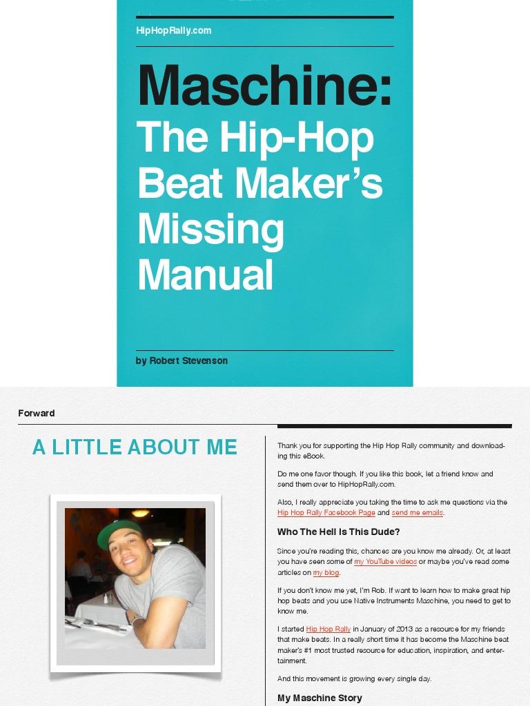 Maschine Manual | Mp3 | Drum Kit