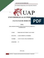 Organismos Internacionales de Financiamiento y Cooperacion Listo