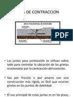 Juntas de Contraccion