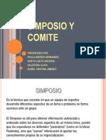 Simposio y Comite Diapositivas!