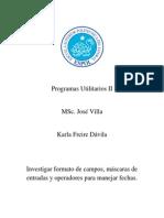 Formato en Microsoft Access