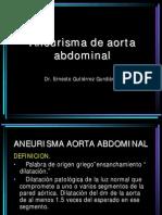 Aneurisma Aorta Abd