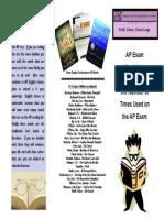 AP Novel List