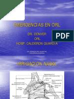 Otorinolaringologia ER