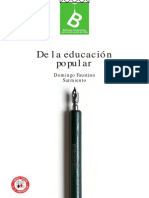 Sarmiento Educacion Popular