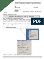 Integration Xp Domaine
