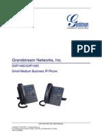 Gxp1400 Manualusuario English