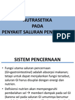 Nutrasetika - Sistem Pencernaan