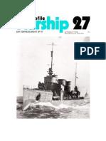 (Warship Profile No.27) SM Torpedo Boat B110