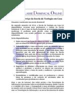 Escola Dominical Online