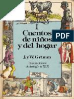 Cuentos de Los Hermanos Grimm Tomo I