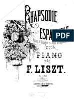 Liszt Spanish Rhapsody