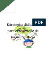 Estrategias Didácticas Para El Desarrollo de Las Matemáticas