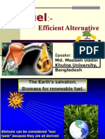 BioFuel- efficient alternative