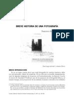 Breve Historia de Una Fotografia