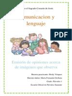 plan comunicacion y lenguaje