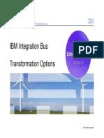 IIB TransformationOptions