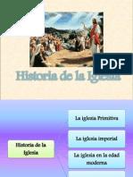 Historia de La Iglesia - Cátedra de Religión