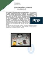 Carga y Descarga de Un Capacitor o Condensador 1
