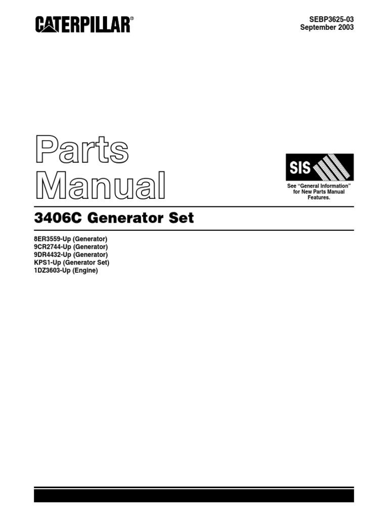 manual partes motor caterpillar 3406c rh scribd com