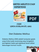 Diet Diabetes Melitus Dan Hipertensi
