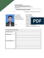 Form Kuesioner Alumni