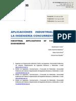 Aplicaciones Industriales de La Ingeniería Concurrente1