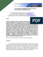 evolução das teorias administrativas